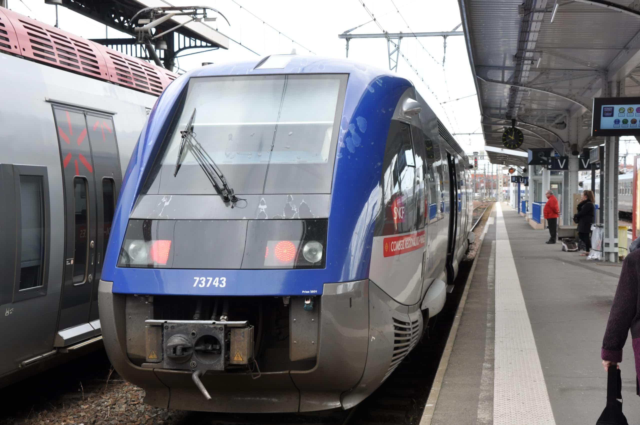 blocage Tisséo Région Occitanie RER Toulouse train @M. Strikis
