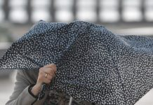 météo vent parapluie