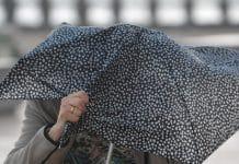 météo vent parapluie averses Toulouse
