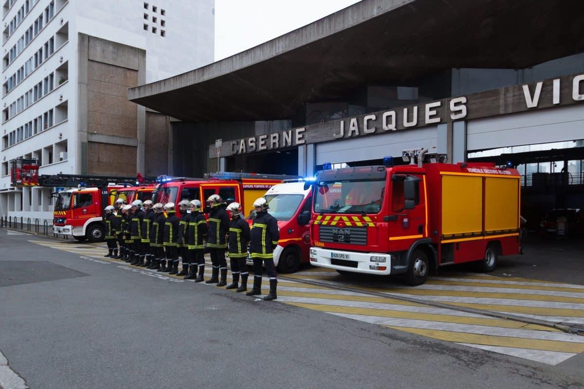 Caserne pompiers Vion Toulouse