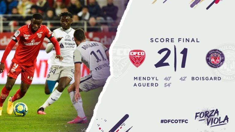 Vidéo : Défait à Dijon (2-1), le TFC a enfin marqué