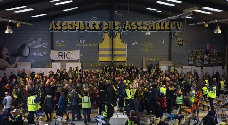 Plus de 400 Gilets jaunes ont participé à l'Assemblée des assemblées à Toulouse