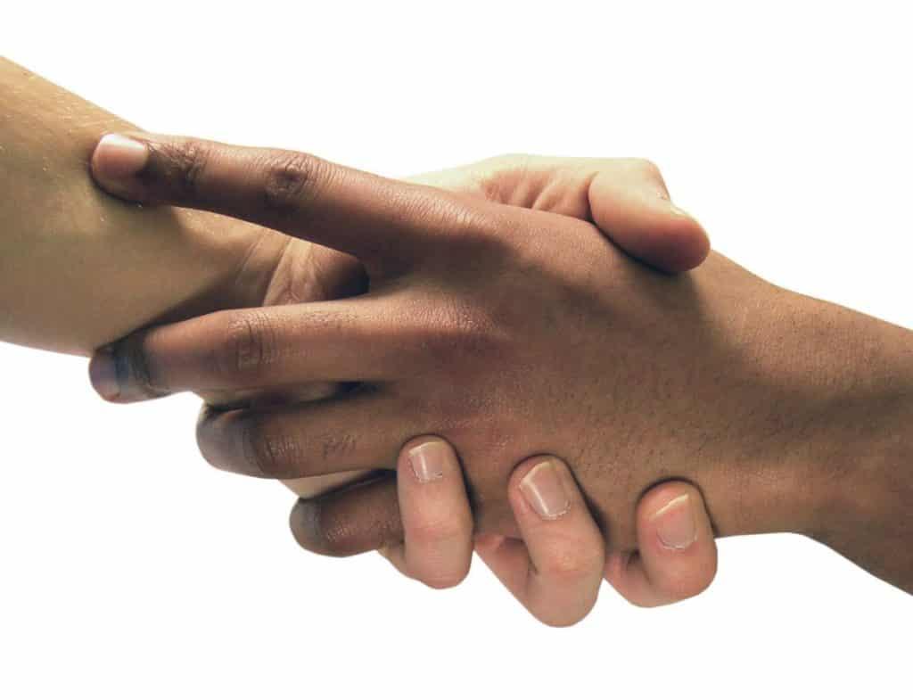 solidarité main
