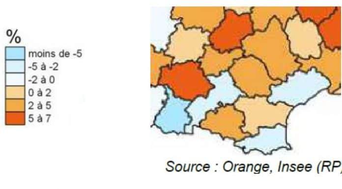 population confinement Occitanie