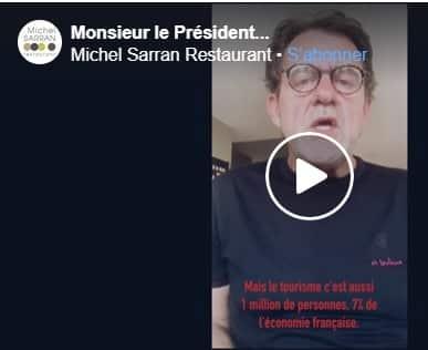 Facebook Michel sarran