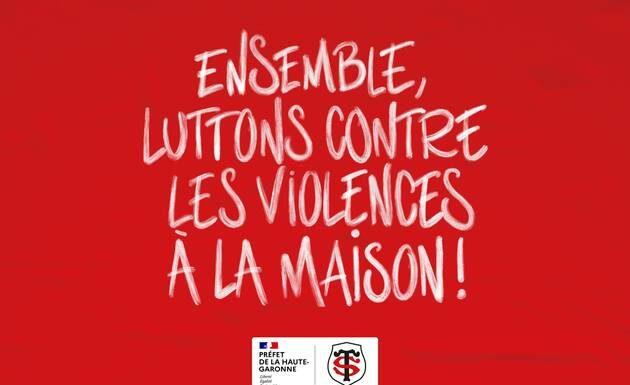 Stade Toulousain violence domestique