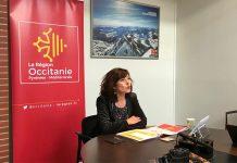 La présidente de la Région Occitanie Carole Delga annonce de nouvelles aides en faveur du petit commerce ©Région Occitanieégion