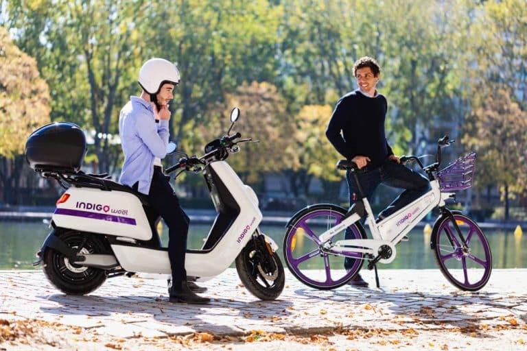 Les vélos et scooters Indigo Weel remis en service à Toulouse