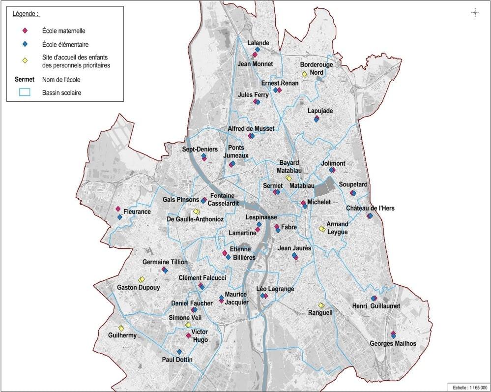reouverture écoles deconfinement Toulouse