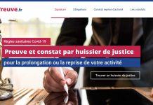 Site legalpreuve huissier
