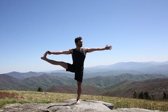 Photo d'illustration, position de yoga Crédit : WeTravel /CC BY 2.0