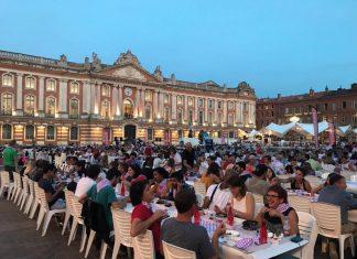 Banquet Toulouse à table