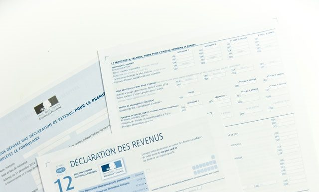 correction déclaration de revenus
