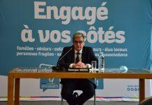 Le président du Conseil départemental de Haute-Garonne Georges Méric critique la stratégie de l'État pour juguler l'épidémie de Covid-19 © Nicolas Belaubre - Journal Toulousain