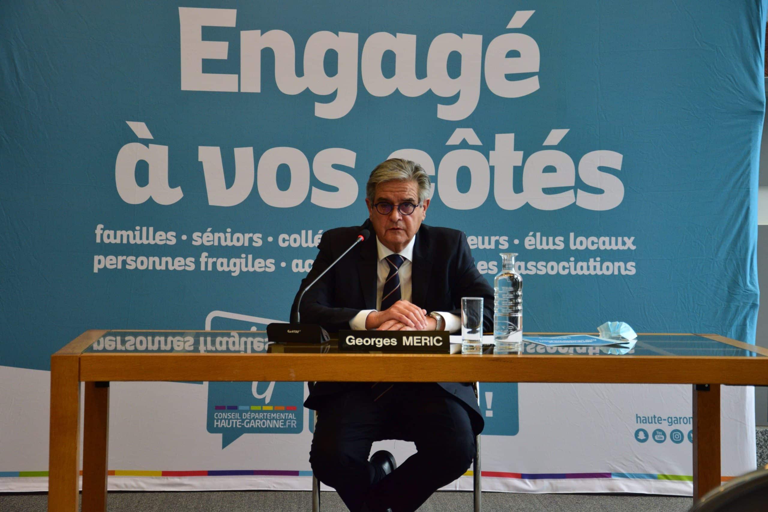 georges méric conseil departemental Haute-Garonne