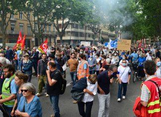 Le Président du CRIF de Toulouse, Franck Touboul réagit à l'utilisation de l'étoile jaune dans les manifestations contre le pass sanitaire © Nicolas Belaubre - Le Journal Toulousain