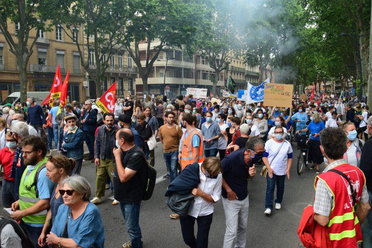 À Toulouse, six manifestations organisées ce samedi