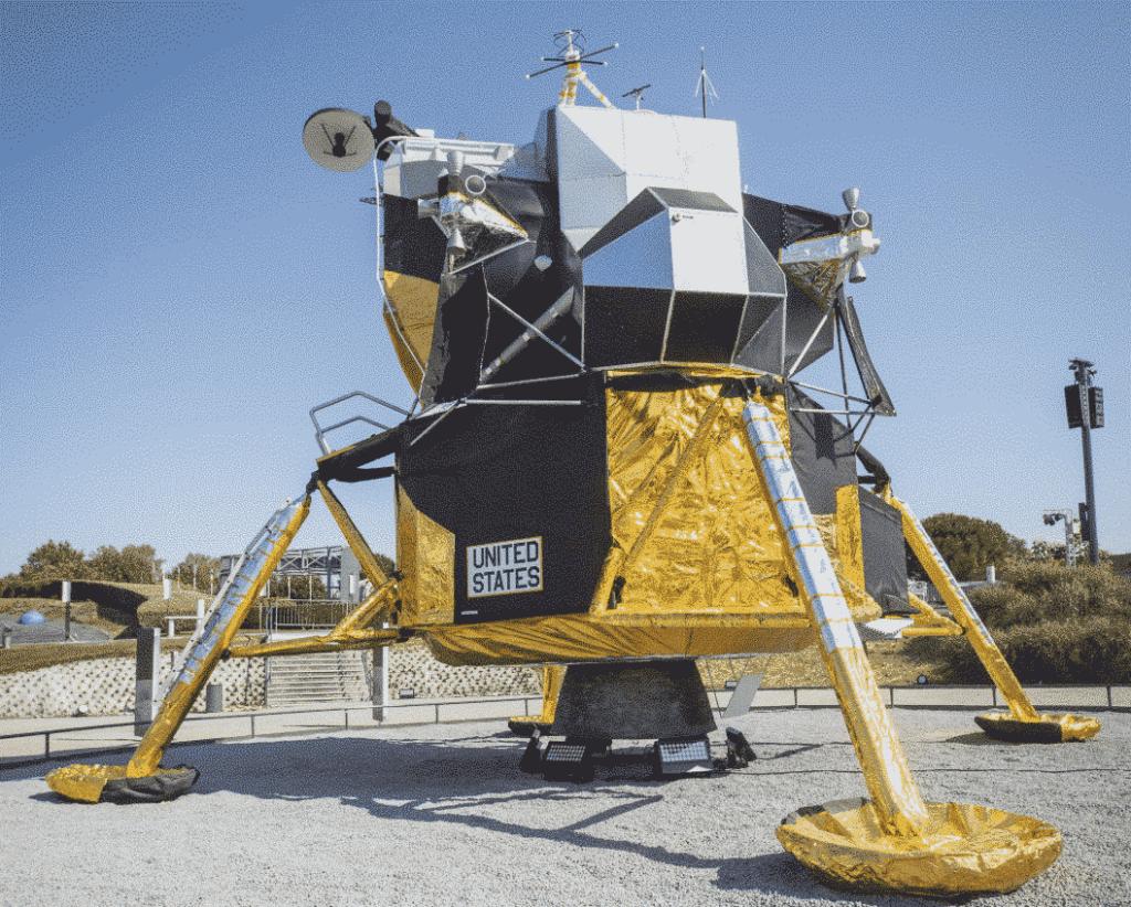 réouverture Cité de l'espace - module lunaire