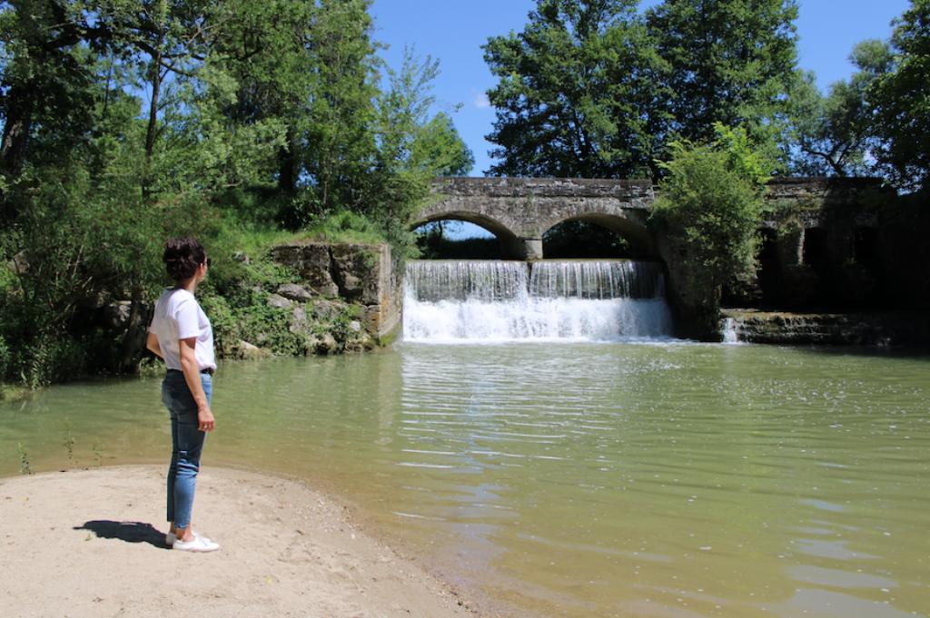 pont cascade de pontalaman