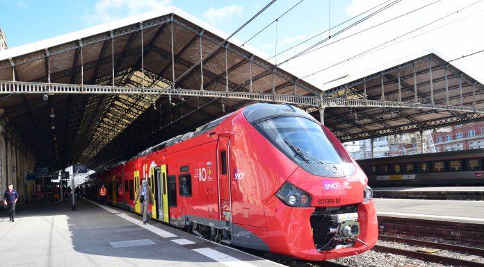 Les nouvelles rames de TER de al région Occitanie © Nicolas Belaubre - Le Journal Toulousain