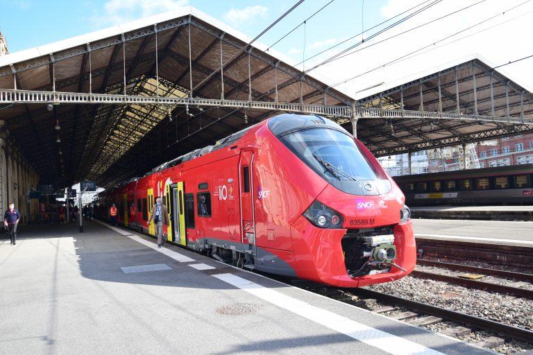 De nouvelles rames aux couleurs de l'Occitanie pour le réseau TER