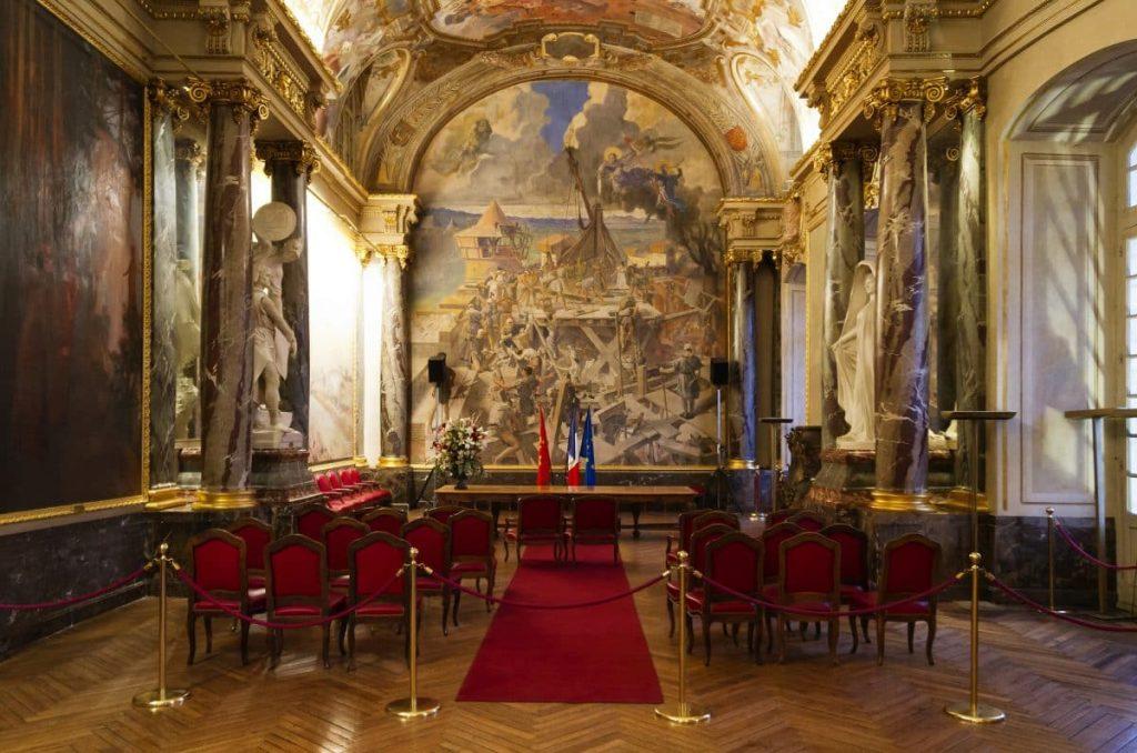 salle illustres mariage mairie Toulouse