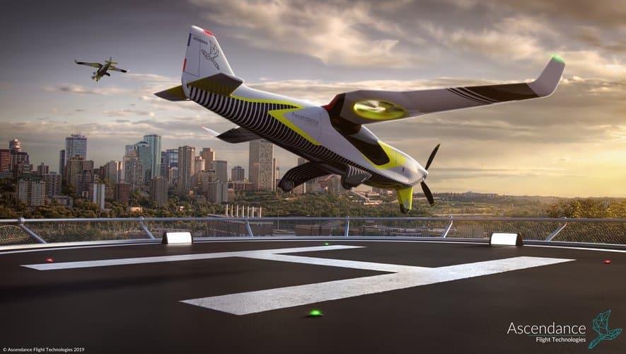 Atea avion révolutionnaire Toulouse ©Ascendance Flight Technologies