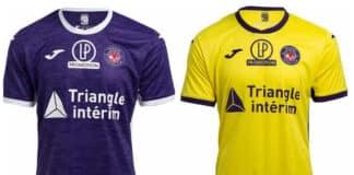 Les nouveaux maillots du TFC©Loma