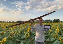 Le drone d'Abelio permet de surveiller les cultures pour limiter l'utilisation des pesticides