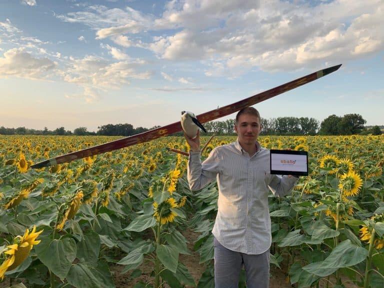 Abelio: des drones solaires pour réduire l'utilisation des pesticides