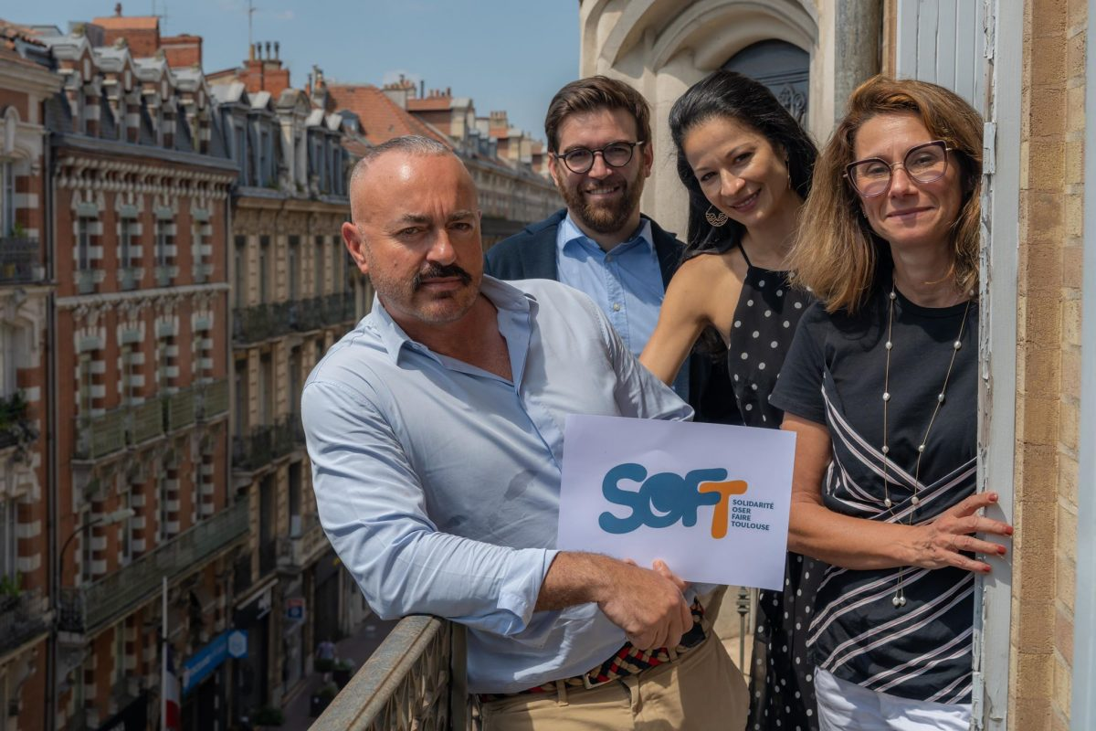 Les fondateurs de Soft proposent leur aide aux Toulousains impactés par le Covid-19 ©David Herrero