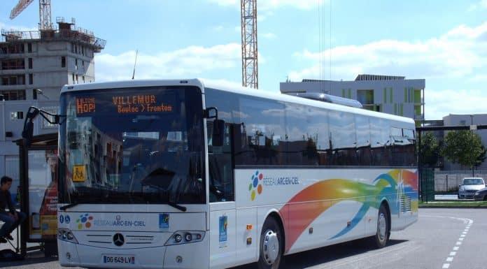 bus arc-en-ciel Haute-garonne transport scolaire