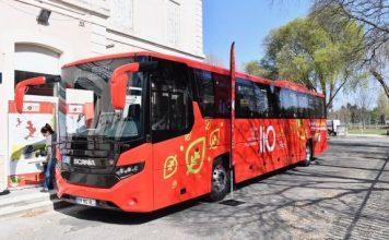 bus Lot lio transports scolaires occitanie