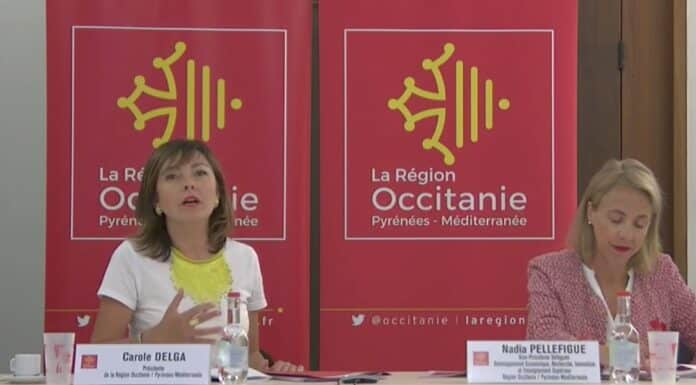 Carole Delga présente l'acte 1 du Green new deal Occitanie © DR