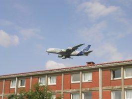 décollage avion Toulouse