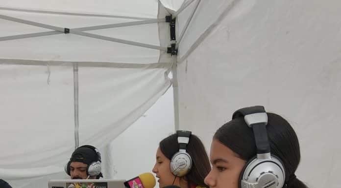 Des Pitchounes qui font de la radio comme des pros ©Laurent Girard