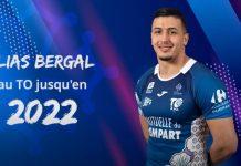 Ilias Bergal rempile pour deux ans au Toulouse Olympique XIII
