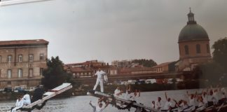 Les Joutes à Toulouse en 1998 ©Estrabord Garones