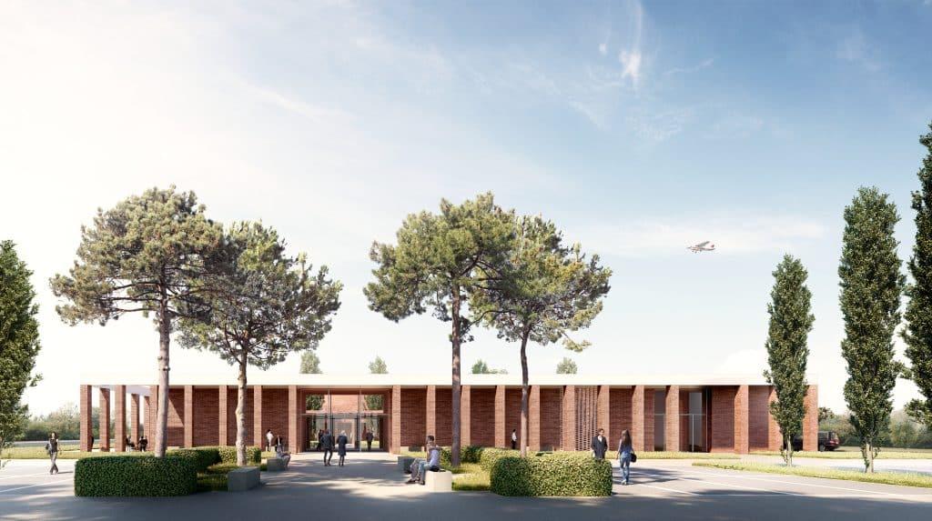 Toulouse Métropole lance la construction d'un deuxième crématorium © ToulouseMétropole