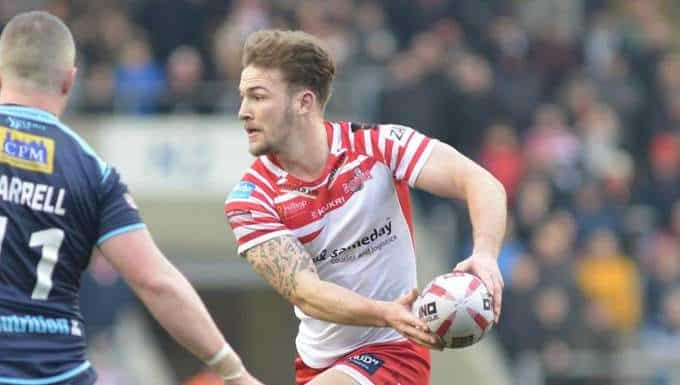 rugby XIII Ben Reynolds