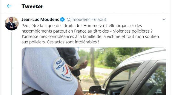 Moudenc tweet LDH