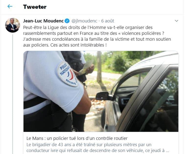 La ligue des droits de l'Homme recadre Jean-Luc Moudenc