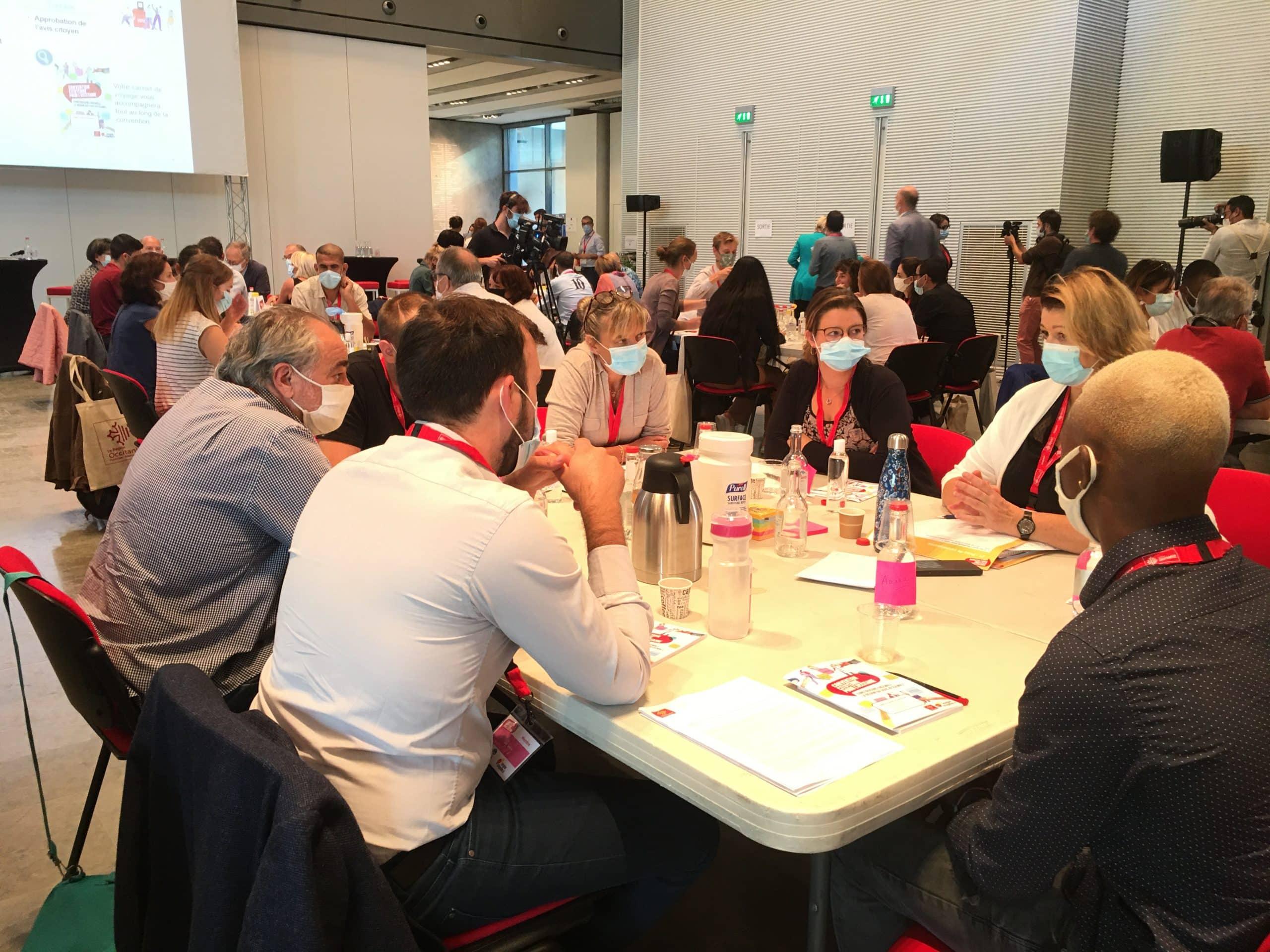 La Convention citoyenne pour l'Occitanie regroupe 109 habitants tirés au sort ©PS