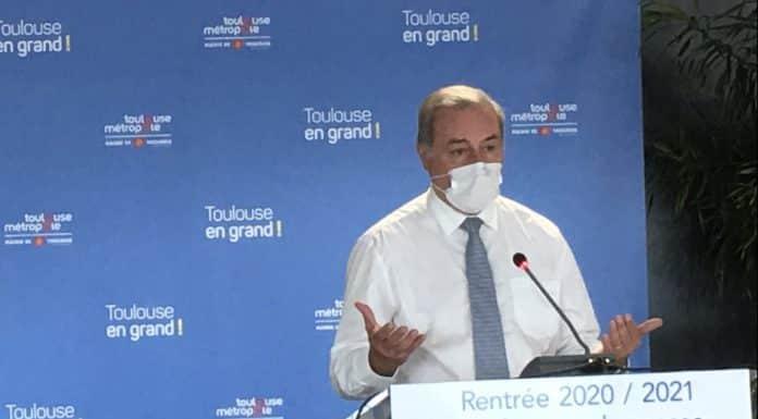 Jean-Luc Moudenc annoncera bientôt de nouvelles mesures de restrictions sanitaires à Toulouse ©PS