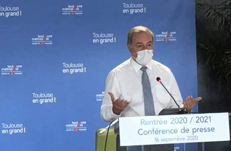 Réouverture des commerces : le soulagement du maire de Toulouse Jean-Luc Moudenc