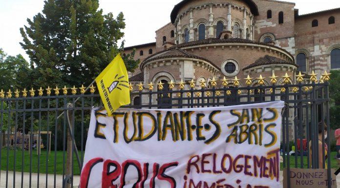 étudiants sans abris Toulouse Dal31
