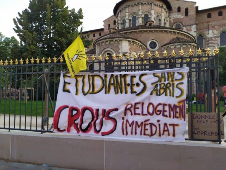 Le Dal31 défend la cause des étudiants sans-abris au ministère du Logement