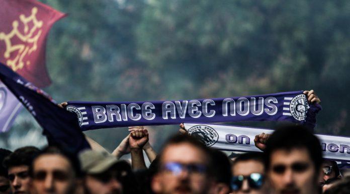 Le TFC rend hommage à Brice Taton ©TFC
