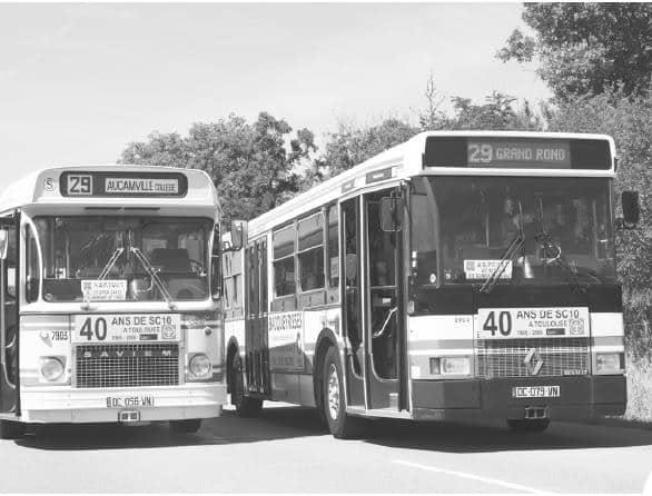 """Montez à bord des bus """"rétro"""" de Tisséo pour les Journées du patrimoine"""