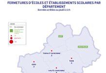 Covid 19 Toulouse etablissements scolaires